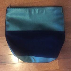 No7 blue/teal clutch/make up bag